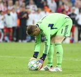 Final Chelsea Training da liga de 2012 campeões Imagens de Stock Royalty Free