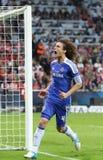 Final Chelsea Training de la liga de 2012 campeones Imágenes de archivo libres de regalías