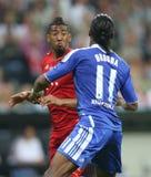 Final Chelsea Training de la liga de 2012 campeones Imagen de archivo