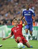 Final Chelsea Training de la liga de 2012 campeones Fotos de archivo libres de regalías