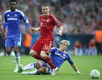 Final Chelsea Training de la liga de 2012 campeones Fotos de archivo
