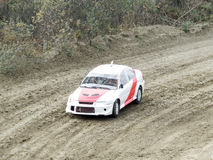 Final of the Cup of Russia in autocross Stock Images
