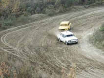 Final of the Cup of Russia in autocross Stock Image