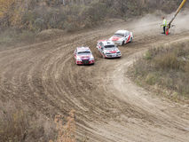 Final of the Cup of Russia in autocross Royalty Free Stock Photography