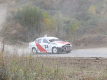 Final Cup of Russia in autocross Royalty Free Stock Image