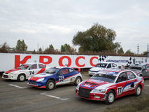 Final Cup of Russia in autocross Royalty Free Stock Photos