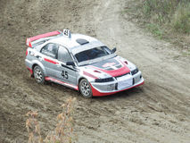 Final Cup of Russia in autocross Royalty Free Stock Images