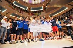 Final da competição do estilo da rua de Red Bull imagens de stock royalty free