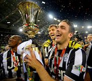 Final da Taça italiano 2015 Imagem de Stock
