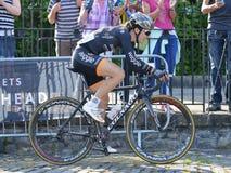 Final de Izumi Tour Series Bicycle Race da pérola no banho Inglaterra Fotografia de Stock Royalty Free