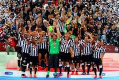 Final de la Copa italiano 2015 Fotografía de archivo libre de regalías