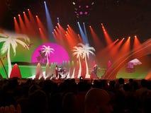 Final de la Eurovisión 2017 en la etapa del Exhib internacional Imágenes de archivo libres de regalías