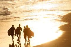Final de un día de verano Imagen de archivo libre de regalías