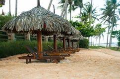 Final del paisaje de la estación de la playa Fotografía de archivo libre de regalías