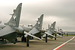 Final del Sea-Harrier Fotografía de archivo libre de regalías