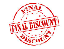 Final discount Stock Images
