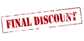 Final discount Royalty Free Stock Photography