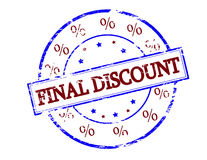 Final discount Royalty Free Stock Photos