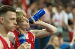 Final do campeonato do basquetebol de cadeira de rodas do mundo fotos de stock