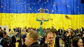 Final do campeonato F4 do basquetebol, Kiev, Ucrânia filme