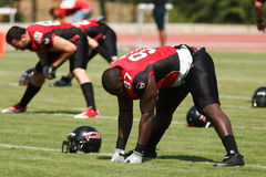 Final EFAF CUP 2013. PIONERS VS BLACK PANTHERS Royalty Free Stock Photography
