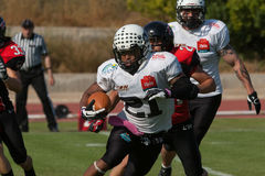 Final EFAF CUP 2013. PIONERS VS BLACK PANTHERS Stock Image