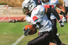 Final EFAF CUP 2013. PIONERS VS BLACK PANTHERS Stock Photos