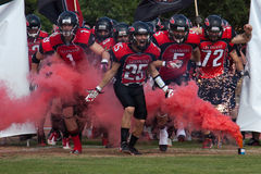 Final EFAF CUP 2013 Royalty Free Stock Photo