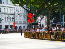 Final Farewell to Mr Lee Kuan Yew Stock Photos