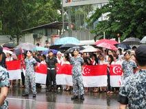 Final farewell to Mr Lee Kuan Yew Stock Image