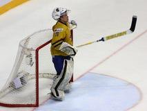 Final game on IIHF World championship, Slovakia royalty free stock photo