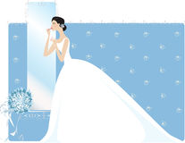 Final look. Before ceremony Royalty Free Illustration