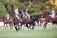 Final magnífico de la 70.a Argentina Pato abierto. Foto de archivo