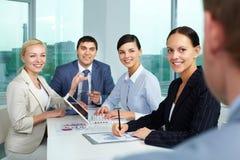 Final meeting Stock Photo