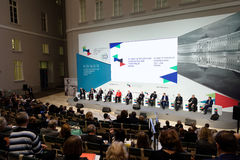 Final plenary session of 4th St. Petersburg International Cultural Forum Stock Image