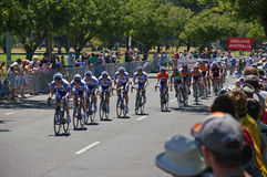 Final race tour down under Royalty Free Stock Photography