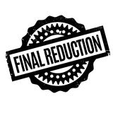 Final Reduction rubber stamp Stock Photos
