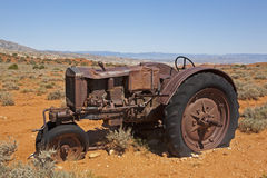 The Final Resting Place for farmers work tractor Royalty Free Stock Photos