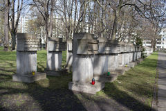 The final resting place of heroes. Stock Photography