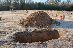 Final Resting Place. Stock Photo