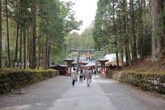 A final resting place of Tokugawa Ieyasu. The final resting place of Tokugawa Ieyasu Stock Photo