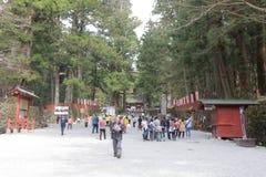 A final resting place of Tokugawa Ieyasu. The final resting place of Tokugawa Ieyasu Royalty Free Stock Photography