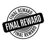Final Reward rubber stamp. Grunge design with dust scratches. Effects can be easily removed for a clean, crisp look. Color is easily changed Royalty Free Stock Photography