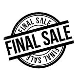 Final Sale rubber stamp Stock Photos