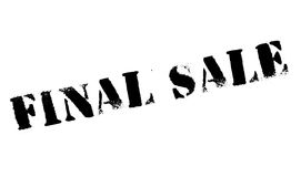 Final Sale rubber stamp Royalty Free Stock Photos