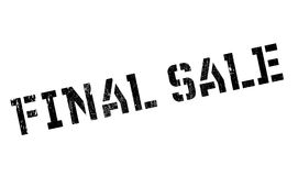 Final Sale rubber stamp. Grunge design with dust scratches. Effects can be easily removed for a clean, crisp look. Color is easily changed Stock Photography