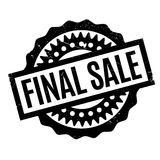 Final Sale rubber stamp Royalty Free Stock Photography