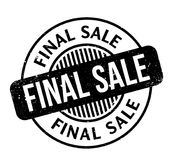 Final Sale rubber stamp Stock Images