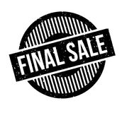 Final Sale rubber stamp Royalty Free Stock Photo