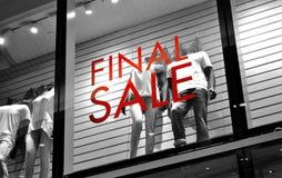 Final sale Royalty Free Stock Photos